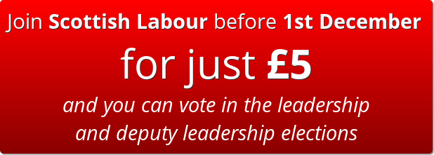 Join Scottish Labour before 1st December for just £5